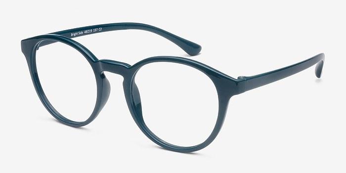 Bright Side Green Plastic Eyeglasses EyeBuyDirect