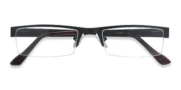 Black Malmo -  Metal Eyeglasses