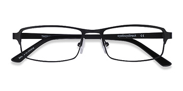 Black Thomas -  Metal Eyeglasses