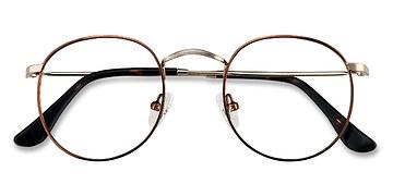 Brown Golden Daydream S -  Metal Eyeglasses