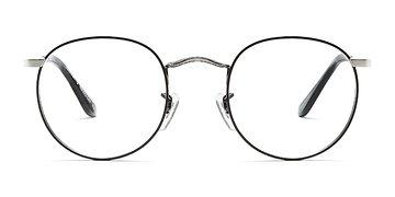 Black Silver Daydream S -  Metal Eyeglasses