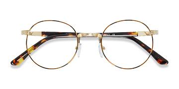 Golden/Tortoise Basquiat -  Classic Metal Eyeglasses