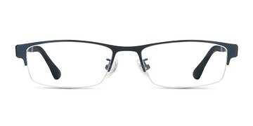 Navy 3320 -  Metal Eyeglasses