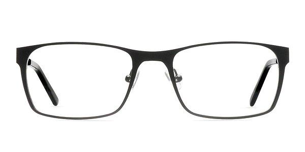 Rimless Glasses Dublin : Dublin Black Metal Eyeglasses EyeBuyDirect