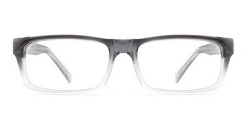 Grey/Clear Garden -  Lightweight Plastic Eyeglasses