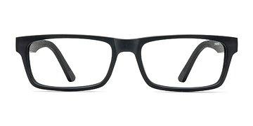 Black Cambridge -  Classic Wood Texture Eyeglasses