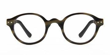Brown Saint Louis -  Fashion Wood Texture Eyeglasses
