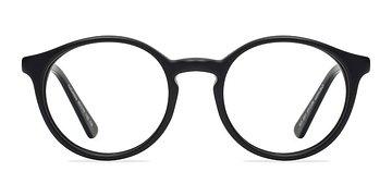 Matte Black Columbia -  Classic Acetate Eyeglasses