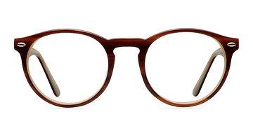 Brown  Yale -  Fashion Acetate Eyeglasses