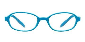 Blue/Green Shelli -  Lightweight Plastic Eyeglasses
