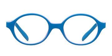 Blue/Purple Theo -  Lightweight Plastic Eyeglasses