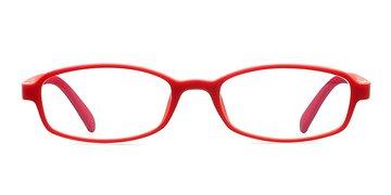 Red Lychee -  Lightweight Plastic Eyeglasses