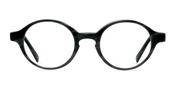 Gray/Striped Theophilus -  Fashion Acetate Eyeglasses