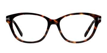 Brown/Tortoise Mia Farrow -  Classic Acetate Eyeglasses
