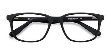 Matte Black Bristol -  Fashion Acetate Eyeglasses
