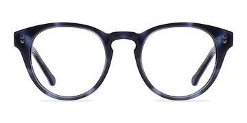Navy Twist -  Fashion Acetate Eyeglasses