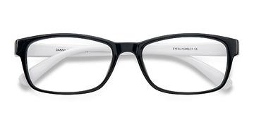 Black/White  Danny -  Fashion Plastic Eyeglasses