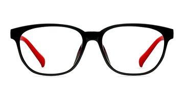 Black Moody -  Classic Plastic Eyeglasses