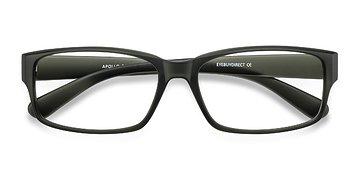 Matte Gray Apollo -  Classic Plastic Eyeglasses