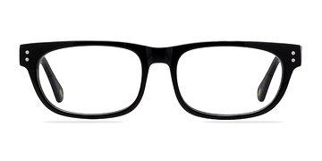 Black Oslo -  Fashion Acetate Eyeglasses