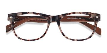Ivory/Tortoise Amber -  Classic Acetate Eyeglasses