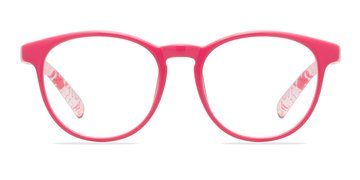 Clear/Pink Little Chilling -  Classic Plastic Eyeglasses
