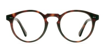 Warm Tortoise Theory -  Fashion Acetate Eyeglasses