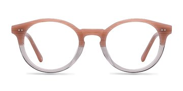 Trasnlucent Striated Rose Fade -  Fashion Acetate Eyeglasses