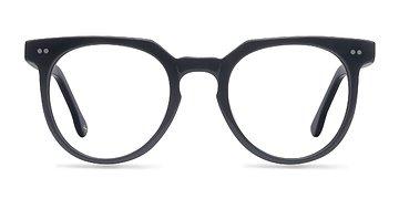 Jet Black Atmosphere -  Fashion Acetate Eyeglasses