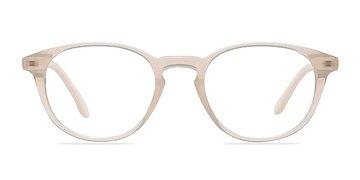 Clear White Sea Breeze -  Fashion Plastic Eyeglasses