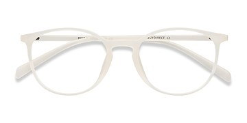 Clear/White Dinah -  Classic Plastic Eyeglasses