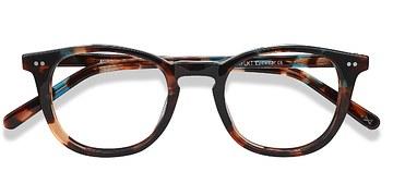 Nebular Blue Aurora -  Fashion Acetate Eyeglasses