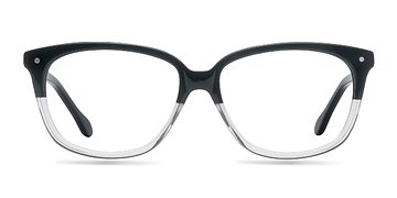 Black Clear  Escapee S -  Fashion Acetate Eyeglasses