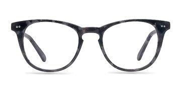 Gray Floral Flume M -  Fashion Acetate Eyeglasses