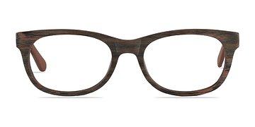 Brown Striped Panama M -  Fashion Eyeglasses