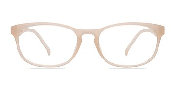 Clear White Drums -  Classic Plastic Eyeglasses