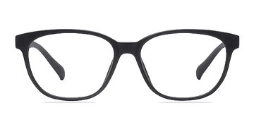 Matte Black Moody -  Classic Plastic Eyeglasses