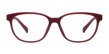 Matte Red Moody -  Classic Plastic Eyeglasses