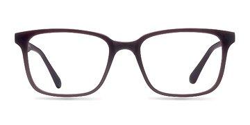 Matte Burgundy November -  Classic Plastic Eyeglasses