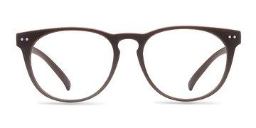 Matte Brown Brick Lane -  Fashion Plastic Eyeglasses