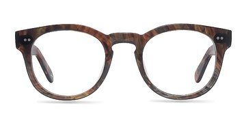 Marbled Hazel Eloquence -  Fashion Acetate Eyeglasses