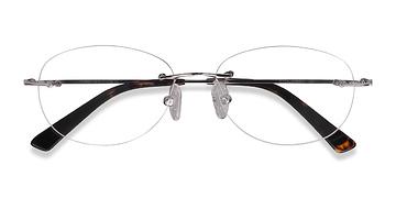 Silver Market -  Metal Eyeglasses