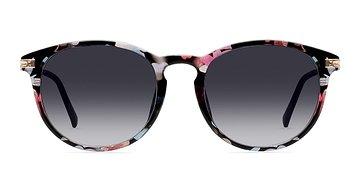 Pink/Floral Monroe -  Sunglasses