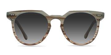 Striped Mint Shadow -  Sunglasses