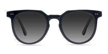 Jet Black Shadow -  Sunglasses