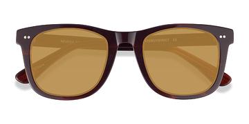 Brown Striped Nevada -  Sunglasses