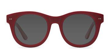 Matte Red Bikini -  Sunglasses