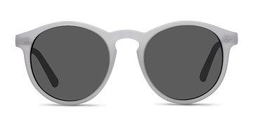 Matte White Decadent -  Sunglasses