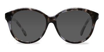 Gray Floral Stella -  Sunglasses
