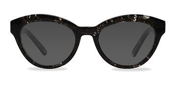 Gray Velour -  Sunglasses